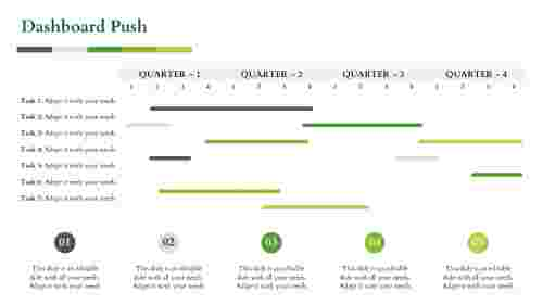 business powerpoint presentation-Dashboard Push