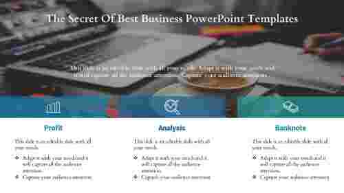 best business powerpoint templates-Secret Of Business