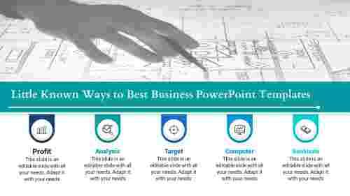 Best business powerpoint templates Horizontal