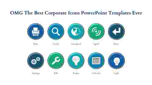 corporate powerpoint templates-OMG The Best CORPORATE POWERPOINT TEMPLATES Ever-Blue-10-Style-3