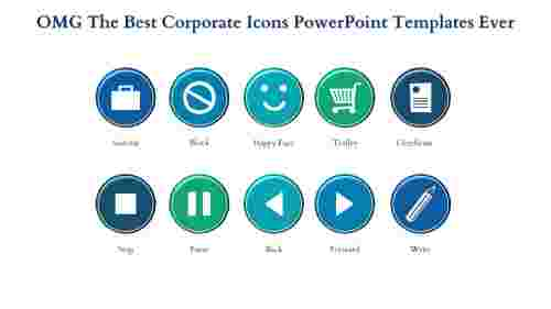 corporate powerpoint templates-OMG The Best CORPORATE POWERPOINT TEMPLATES Ever-Blue-10-Style-5