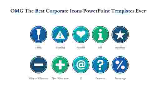 corporate powerpoint templates-OMG The Best CORPORATE POWERPOINT TEMPLATES Ever-Blue-10-Style-1