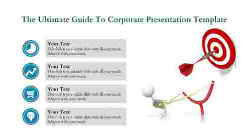 Goal Corporate presentation template
