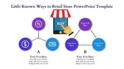 retail store powerpoint templat