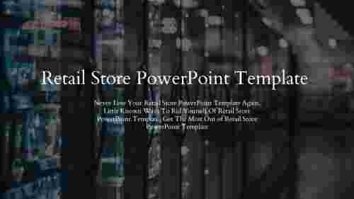 Retail store powerpoint template-background theme