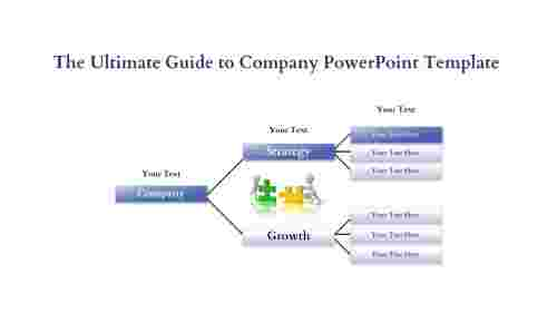 company powerpoint template-hierarchy vision