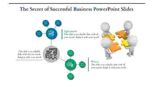 Business Powerpoint Slides with Clipart