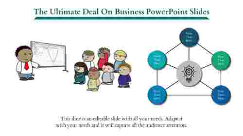 Business Powerpoint Slides - 5 Parts