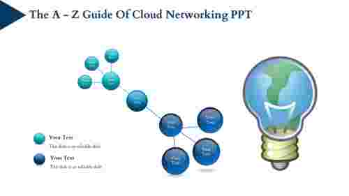 cloud networking PPT - Circular Spokes