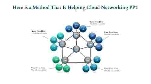 Cloud Networking PPT - Crowed Circles