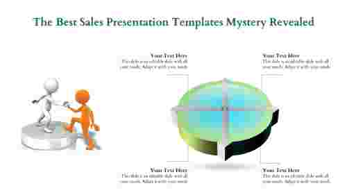 Best Sales Presentation Templates - 4 Division