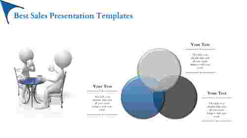 Best sales presentation template-three node