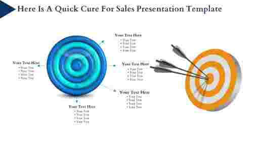 Sales presentation template With Target images