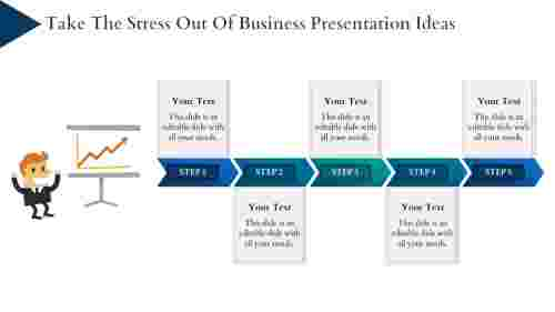 business presentation ideas- Arrow Diagram