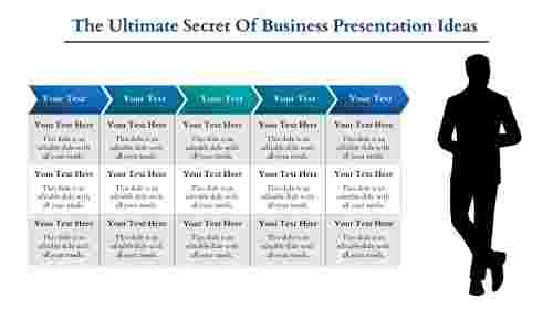 business presentation ideas- Secret of Business