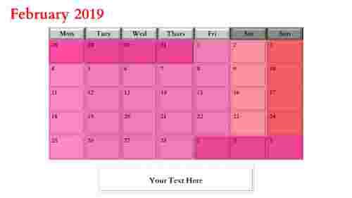 PowerPoint calendar slide tips