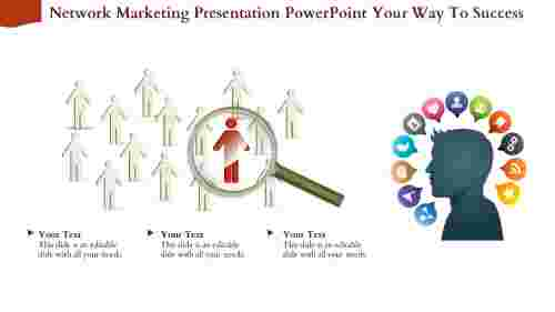 Success Of Network Marketing Presentation Powerpoint