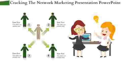 Network Marketing Presentation PowerPoint With Arrows