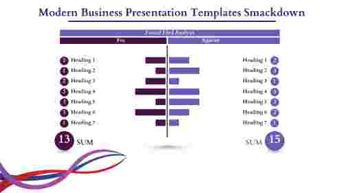 modern business presentation templates