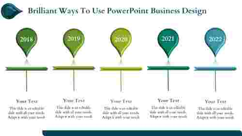 powerpoint business design- Timeline