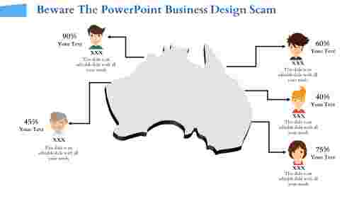 powerpoint business design- Business Map