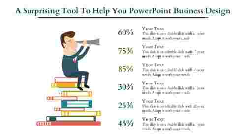 powerpoint business design- Education slide