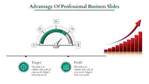 Professional business slides-Growth Analyzing