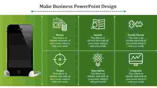 business powerpoint design- Mobile Design