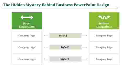 business powerpoint design-  business Textbox