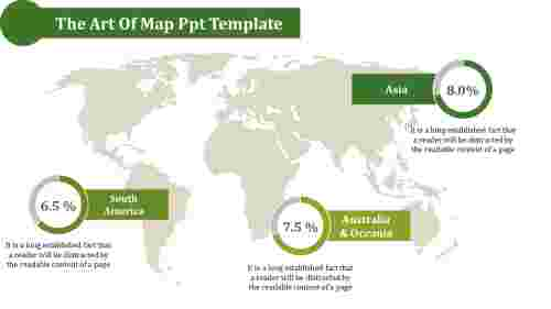 map ppt template