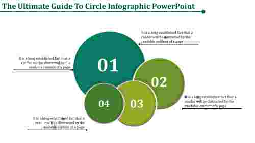 Circle infographic PowerPoint model