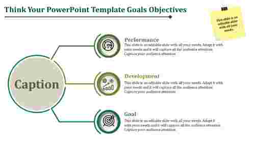 Simple PowerPoint Template Goals And Objectives