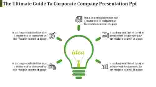 corporate company presentation PPT