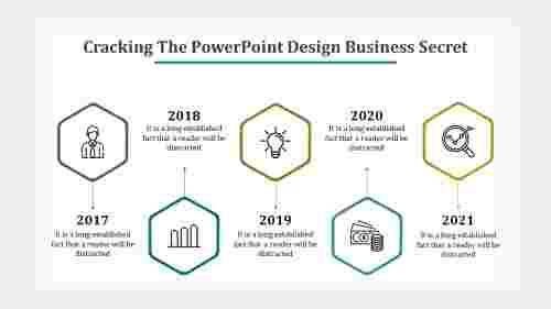 Hexagonal PowerPoint design business