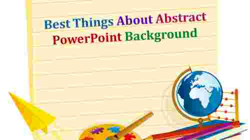Abstract powerpoint background with globe diagram