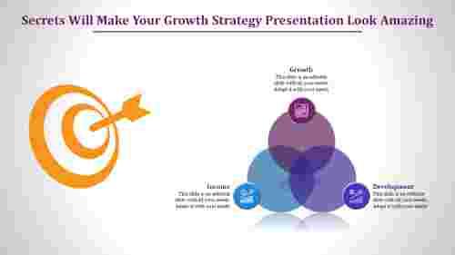 Growth strategy presentation slide