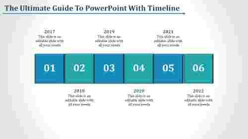 crispy powerpoint with timeline