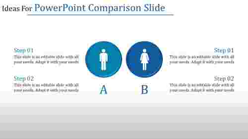 PowerPoint comparison slide presentation