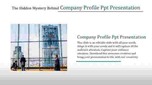 company profile PPT presentation