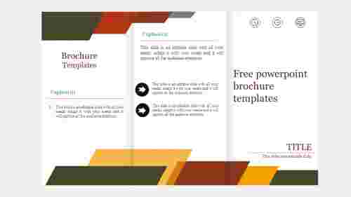 free powerpoint brochure templates - Editable