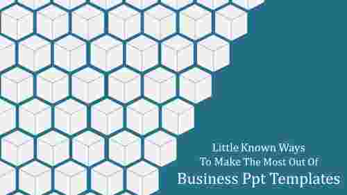 Business ppt templates-Cube design