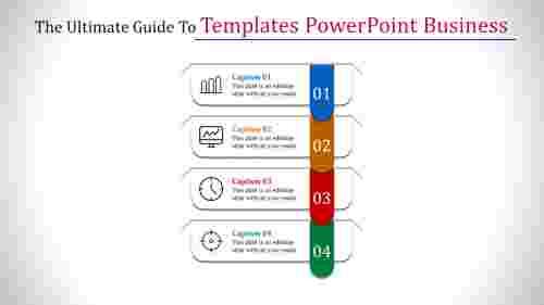 Vertical templates powerpoint business