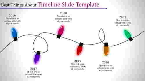 screwed timeline slide template