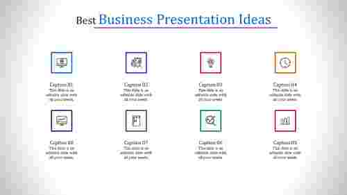 business presentation ideas