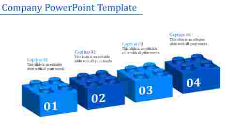 company powerpoint template-Company Powerpoint Template-Blue