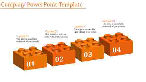 company powerpoint template-Company Powerpoint Template-Orange