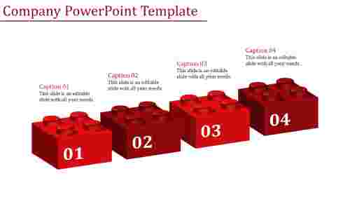 company powerpoint template-Company Powerpoint Template-Red
