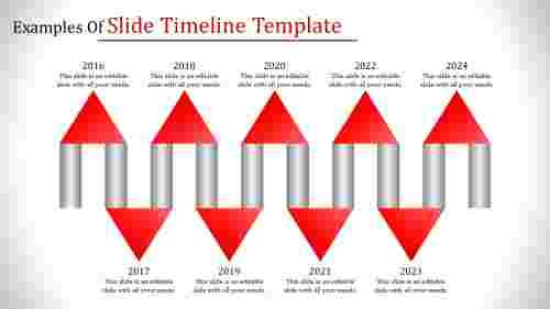 applied Slide Timeline Template