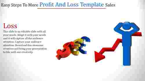 profit and loss template-Easy Steps To More Profit And Loss Template Sales