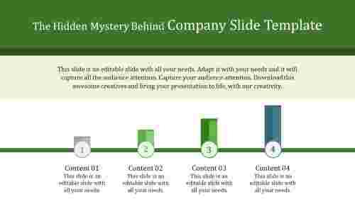 company slide template